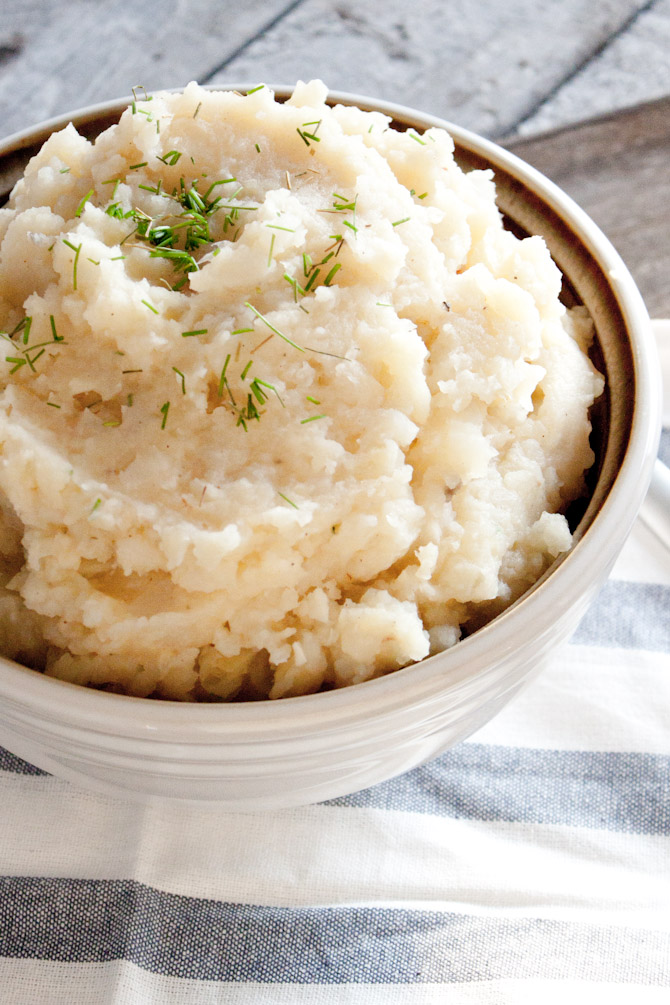 Garlic Mashed Root Vegetables | simplerootswellness.com