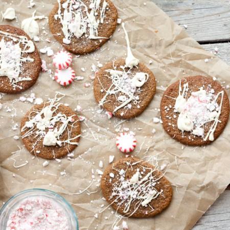 Paleo Crispy Ginger Cookies