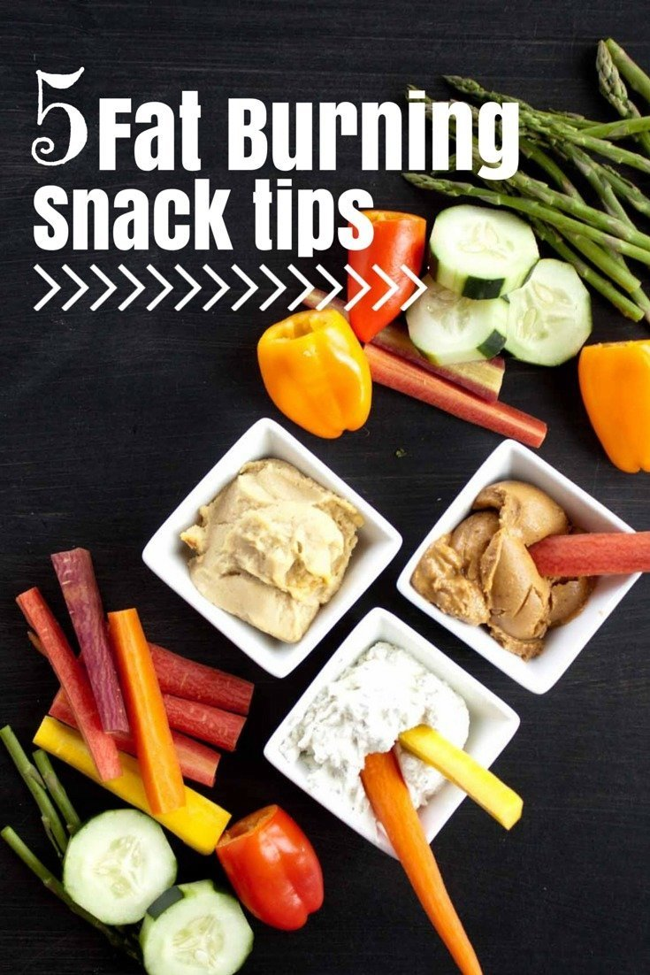 Five Fat Burning Snack Tips | simplerootswellness.com