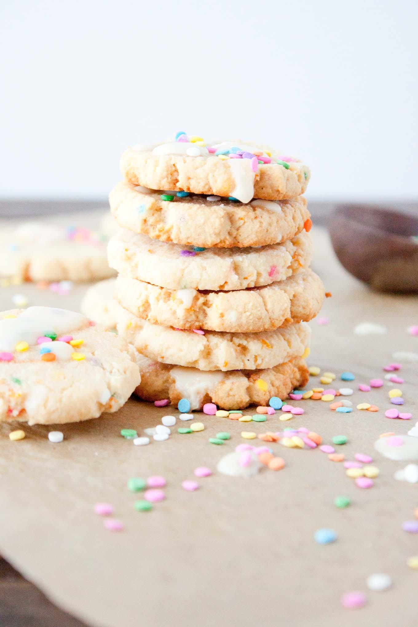 Citrus Funfetti Cookie | simplerootswellness.com