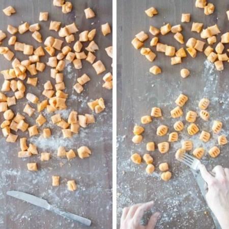 3 Ingredient Sweet Potato Gnocchi