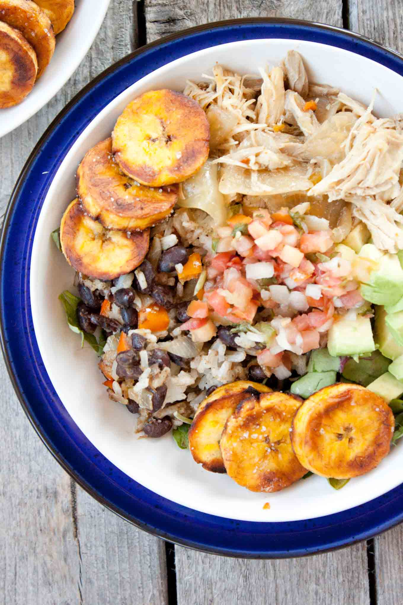 Cuban Salad Bowl | simplerootswellness.com