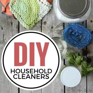 DIY Household Cleaners | simplerootswellness.com