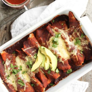 Traditional Chicken Enchiladas | simplerootswellness.com