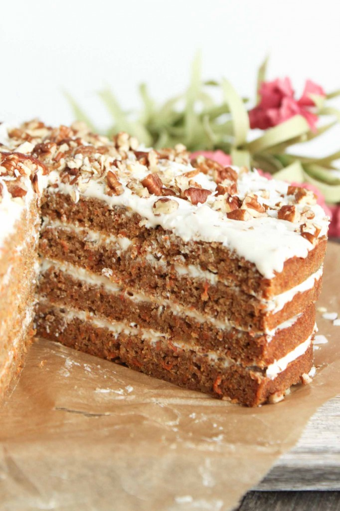 Paleo Spiced Carrot Cake - Simple Roots