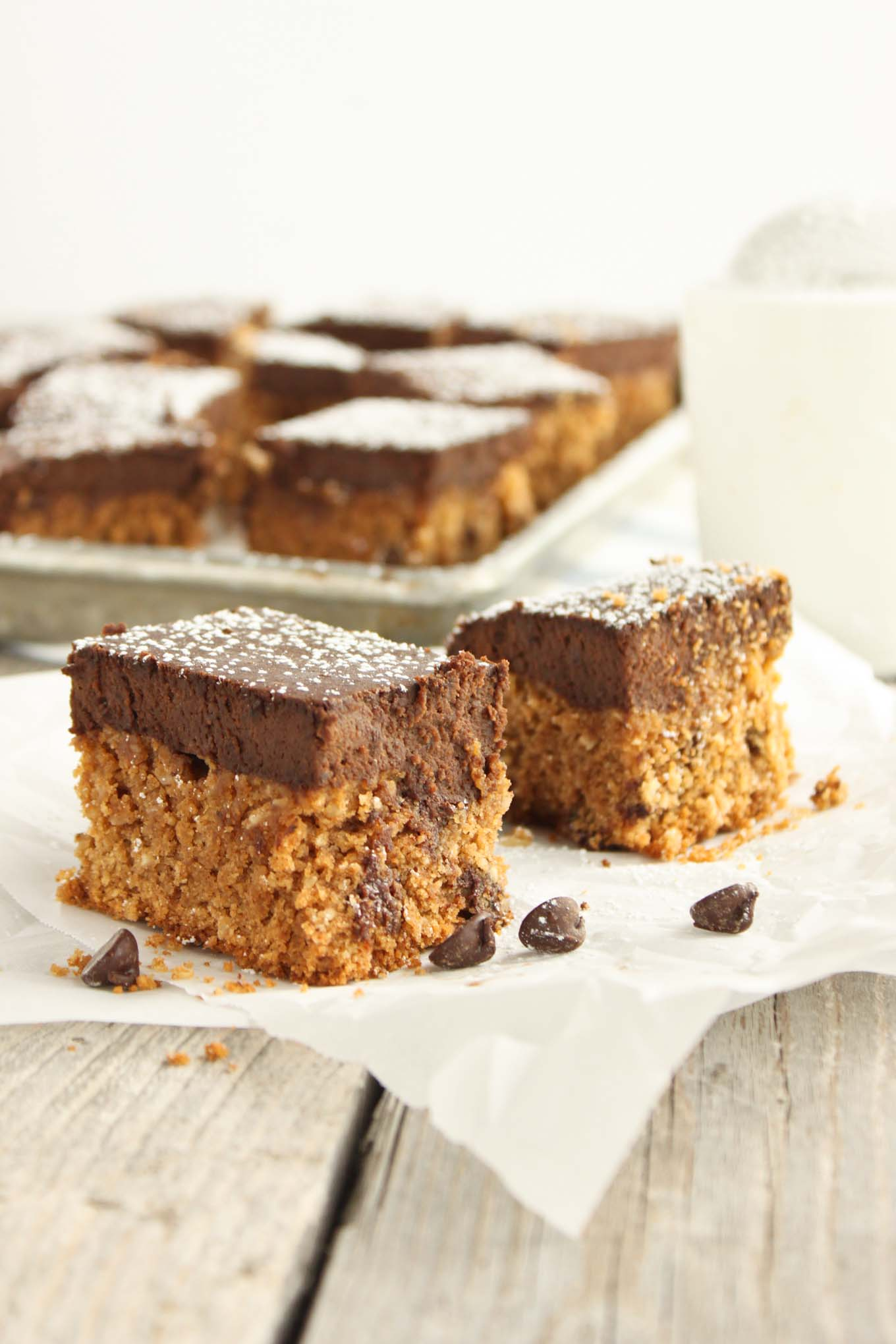 Grain Free Brownie Cookie Bars | simplerootswellness.com