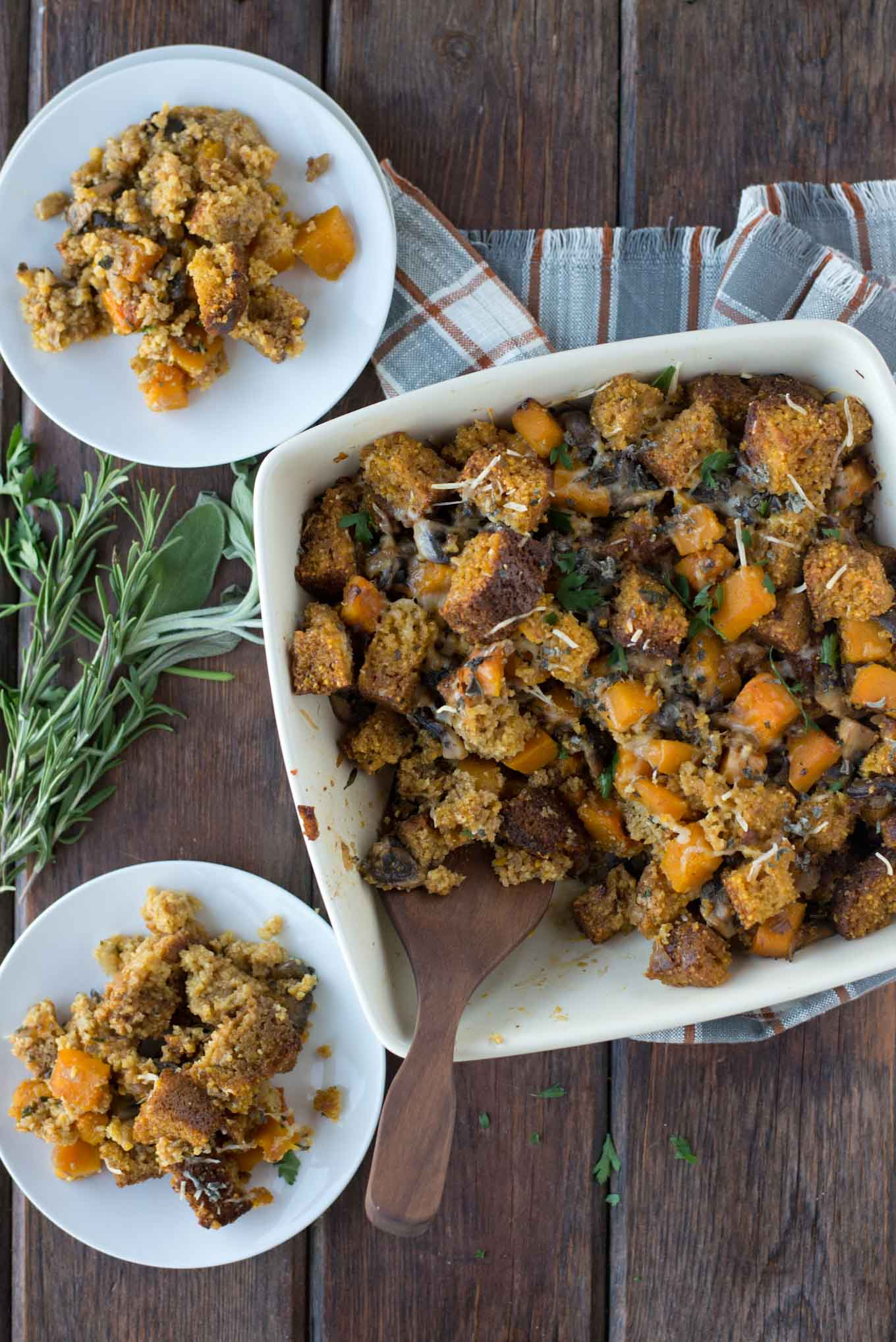 Fear Stuffing no more, check out this healthy and quick stuffing recipe that packs a big punch.