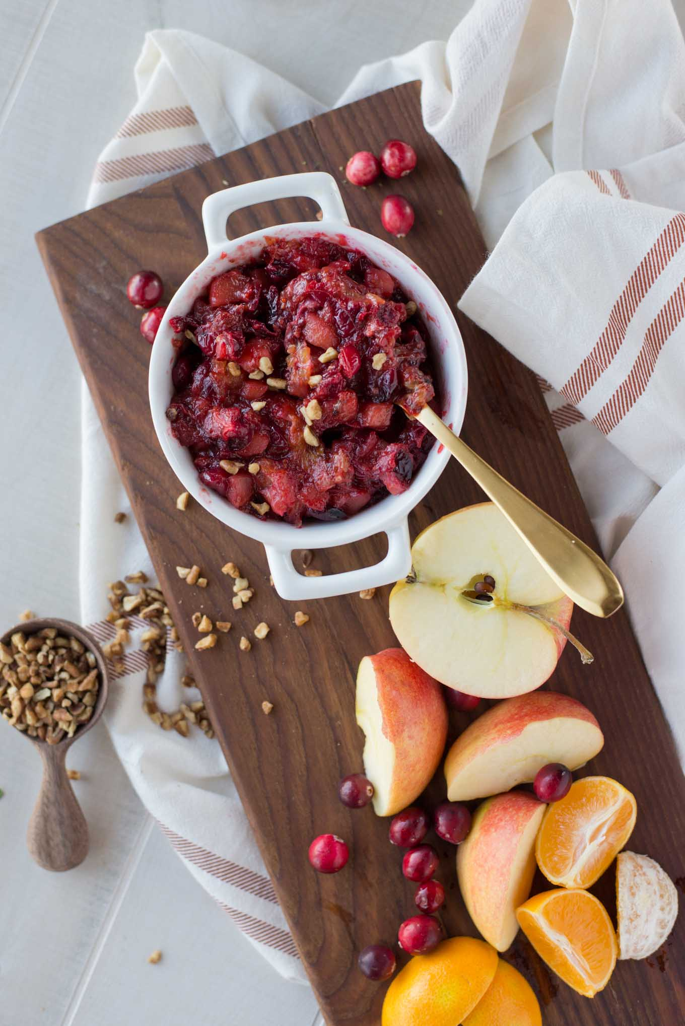 Delicious cranberry sauce, because cranberry sauce really can be delicious in under 20 minutes.