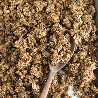 Super Food Granola. Loaded with everything nutritious this 10 minute granola is all you need.
