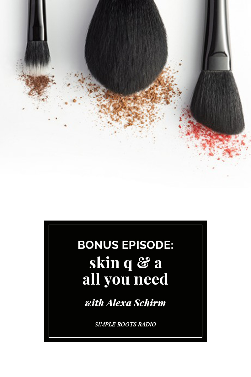 You asked and I delivered. In this bonus episode I will give you advice, tips, tricks and hacks on how to get the most vibrant and youthful skin. From why birth control pills work, the alternatives, balancing hormones for clear skin, my favorite beauty products and more.