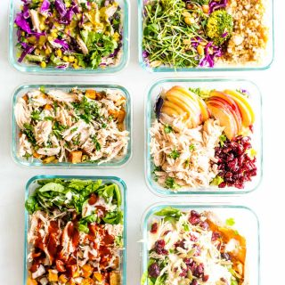 Shredded Chicken Six Ways