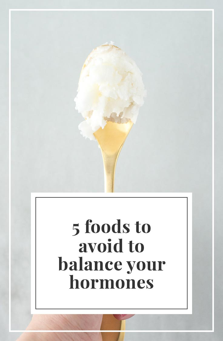 If you want to balance hormones naturally, avoid these 5 foods.