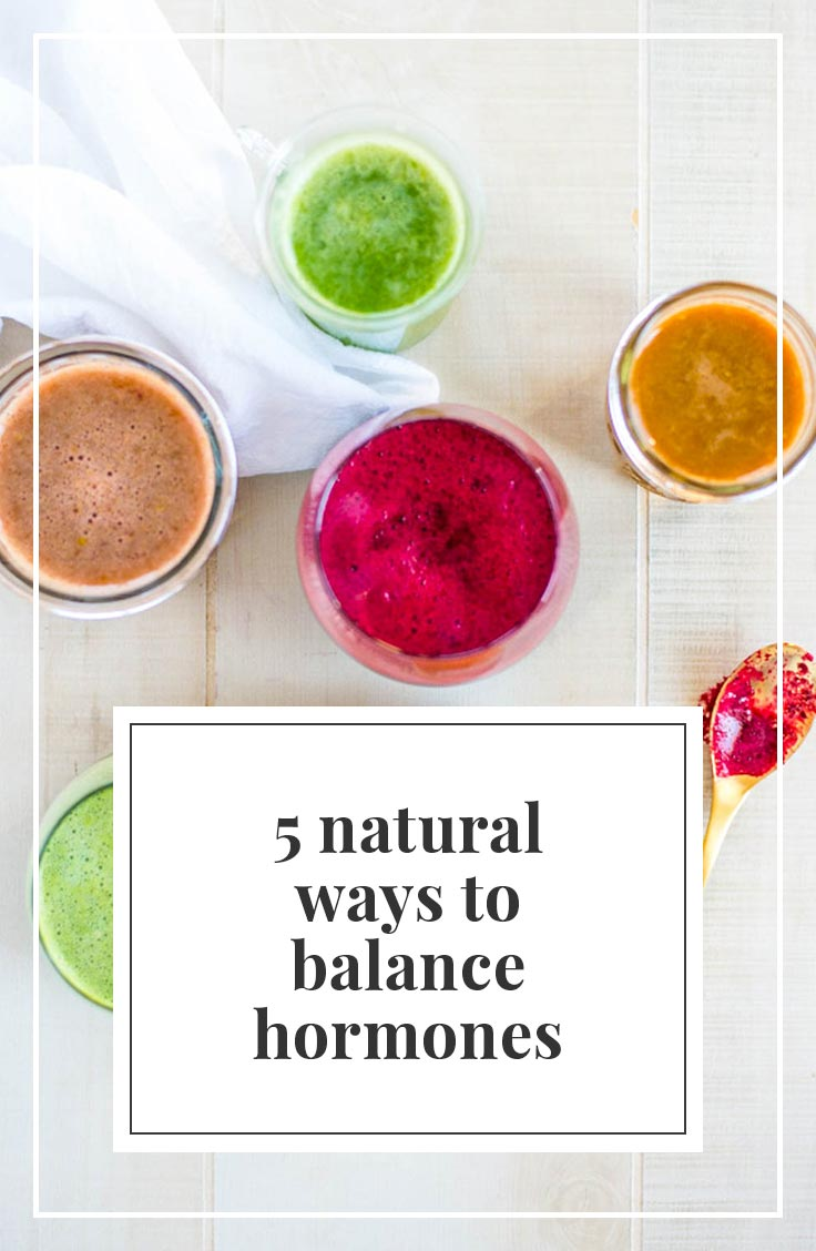 Tired, Moody, have trouble losing weight? Check out these 5 natural ways to balance hormones.