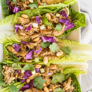 20 Minute Chicken Lettuce Wraps