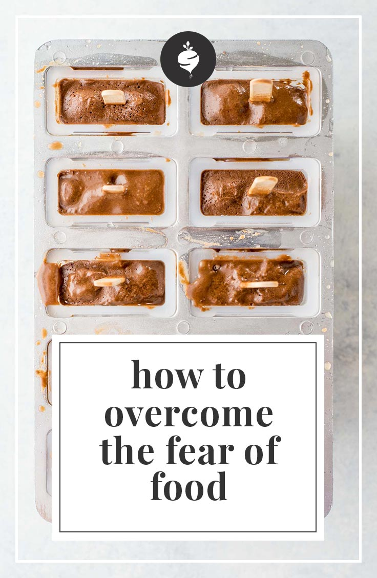 Five ways to overcome the fear of food. Five ways to feel confident every time you eat.