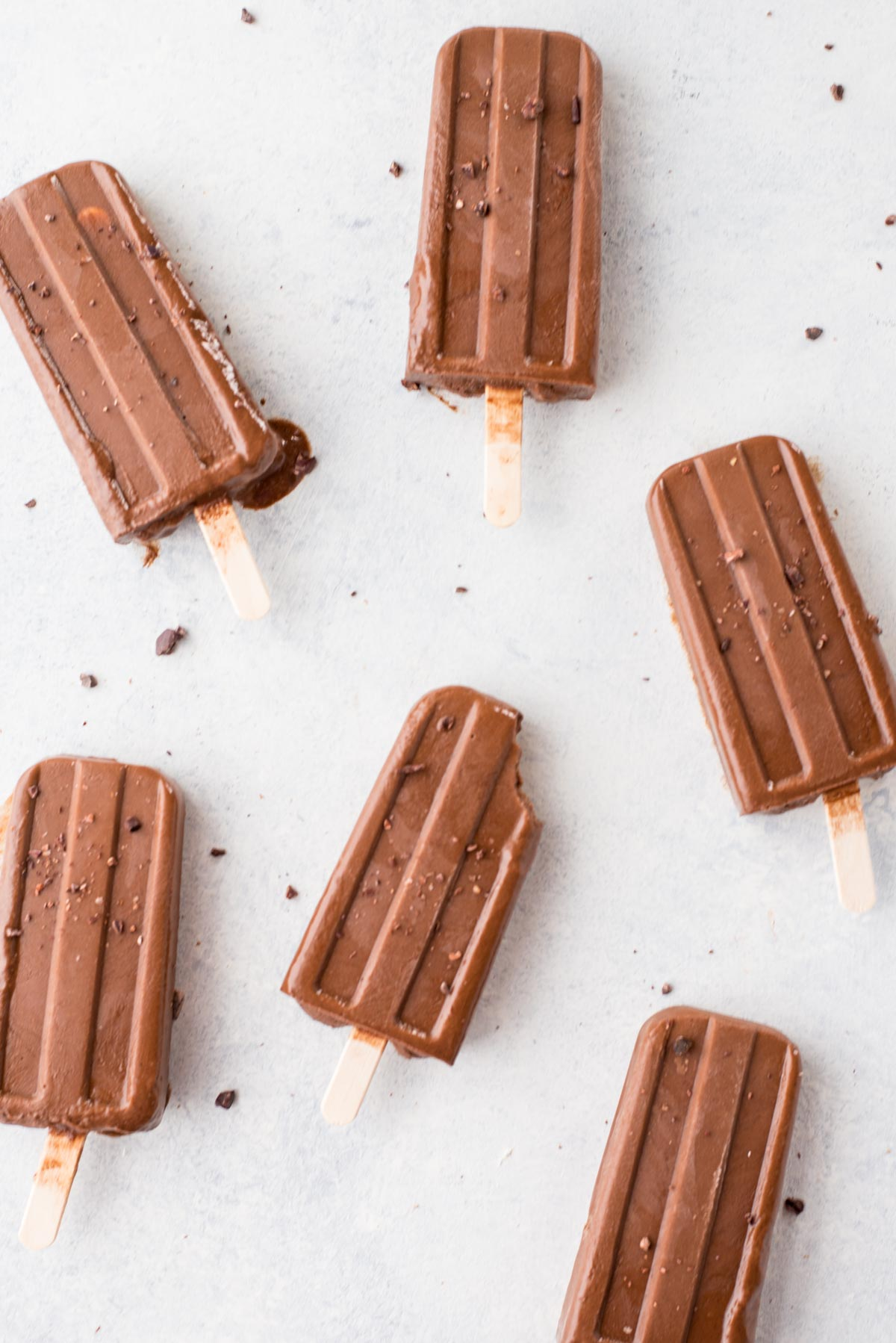 Fudgesicles loaded with hormonal balancing vital nutrients that will end all cravings.