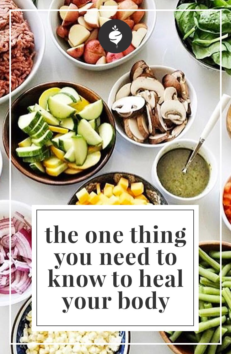 The one thing you need to know to heal your body and get your health back.