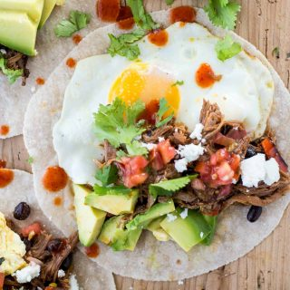 Make-Ahead Healthy Breakfast Tacos