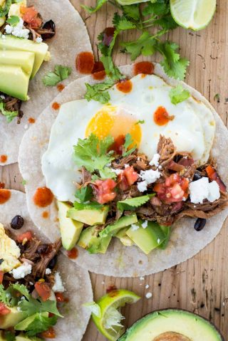 Looking for a quick breakfast you can eat on the go? Check out these make-ahead breakfast tacos.