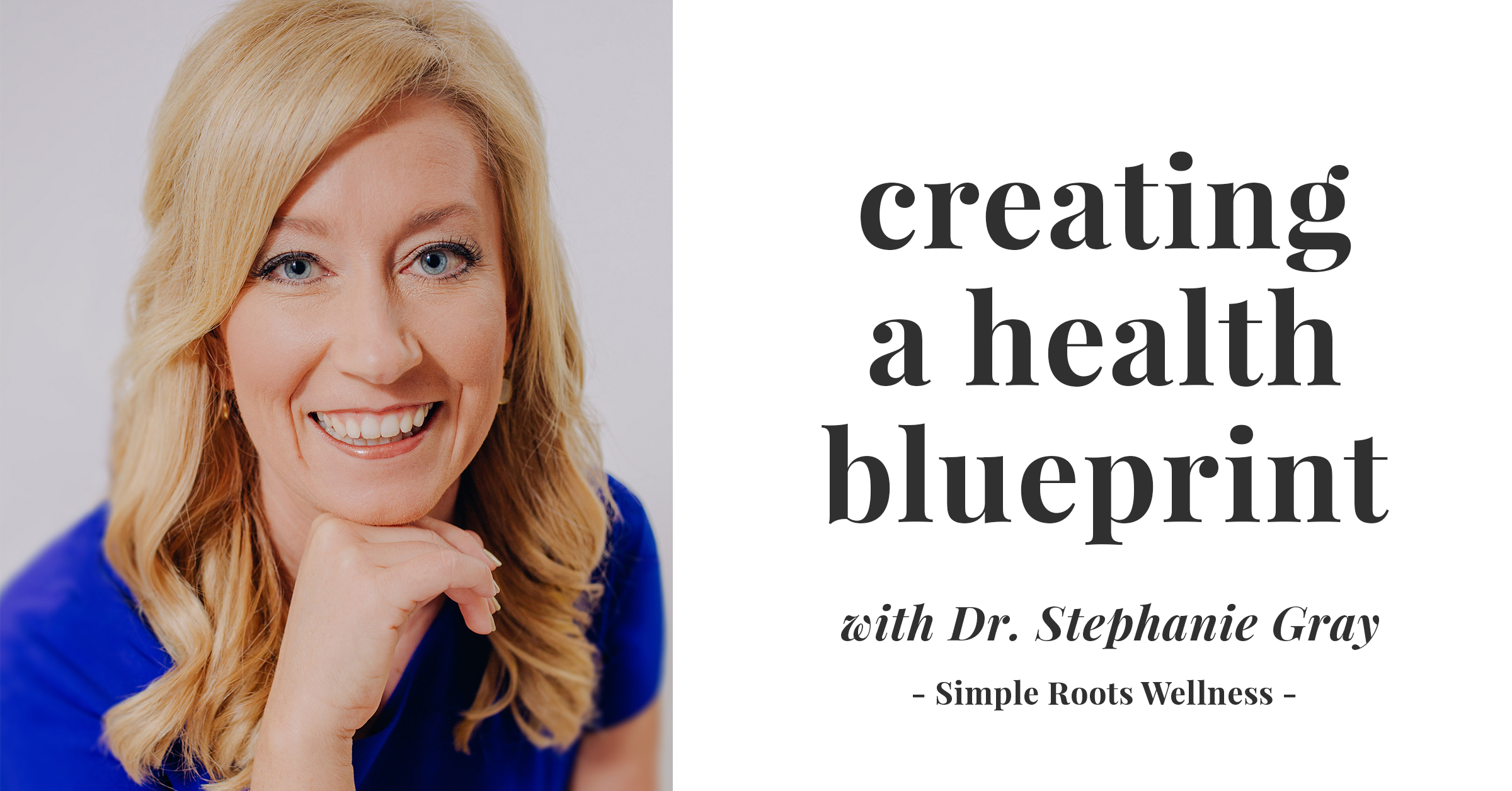 Exhaustion, fatigue and weight gain are just the tip of the iceberg. So many of us are suffering, but do we have to be? Learn how to create your own health blueprint here.