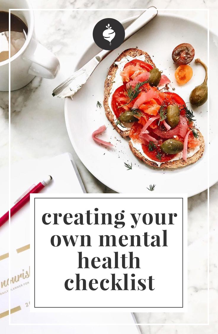 A journey of taking control of mental health plus a free checklist to help you through.