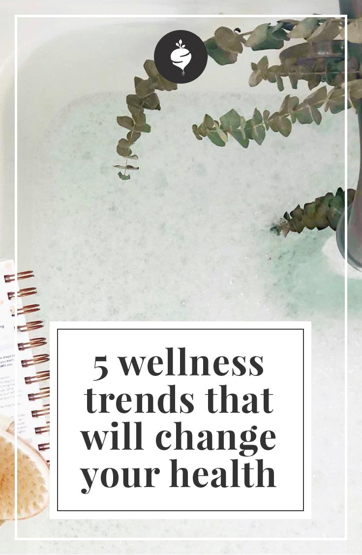 5 Wellness Trends That Will Change Your Health | simplerootswellness.com #wellness #healthtip #adaptogens #trends