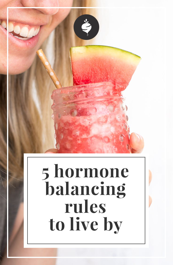 5 Hormone Balancing Rules To Live By | simplerootswellness.com #podcast #healthtip #hormones #cleanse #detox