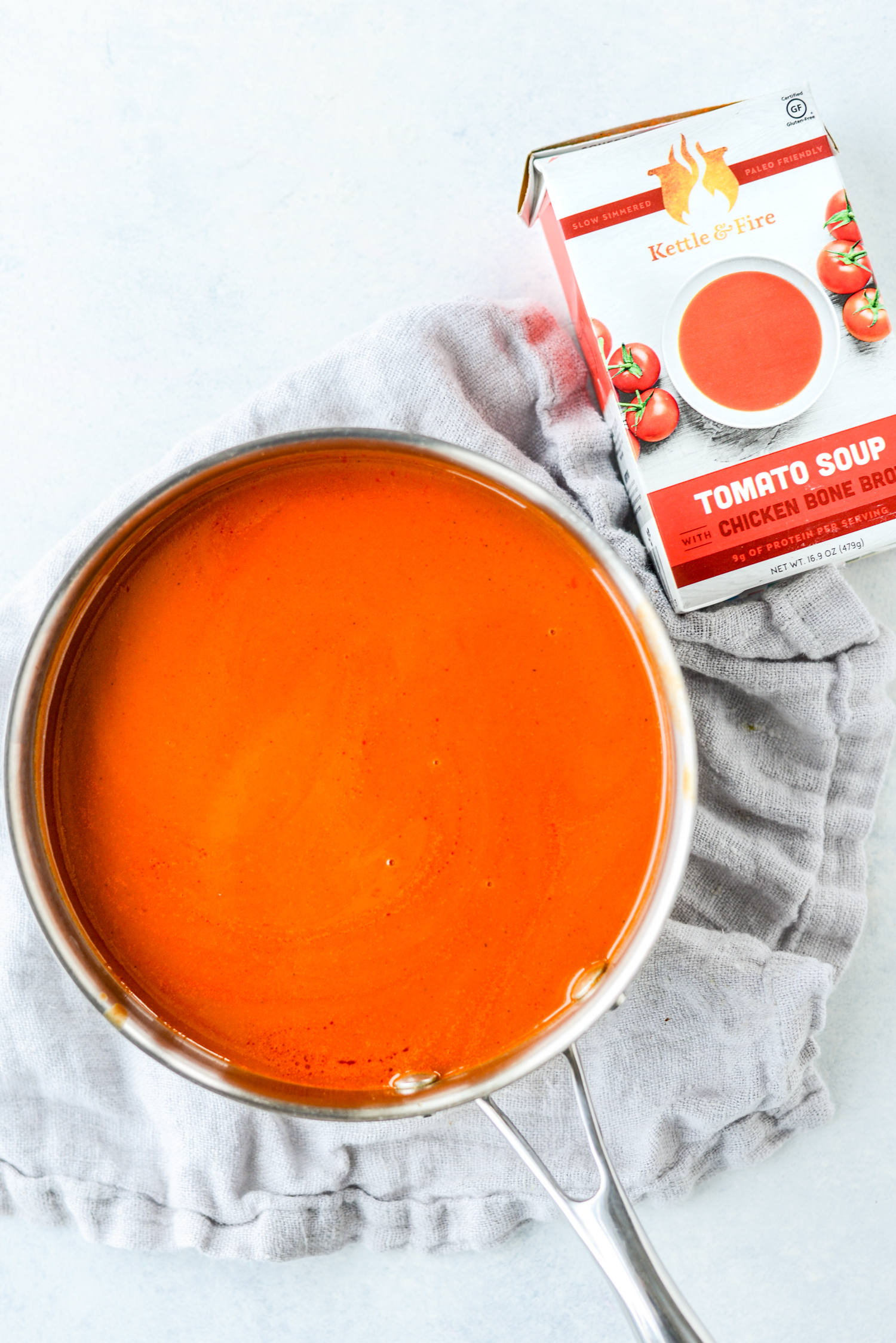Basic Tomato Soup 5 Ways | simplerootswellness.com #soup #bonebroth #healthyrecipe #quickandeasy