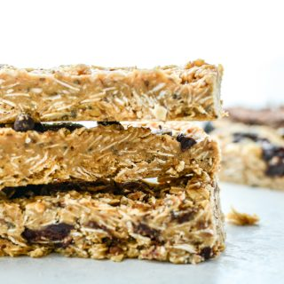 Healthy No-Bake Protein Granola Bars 5-Ways