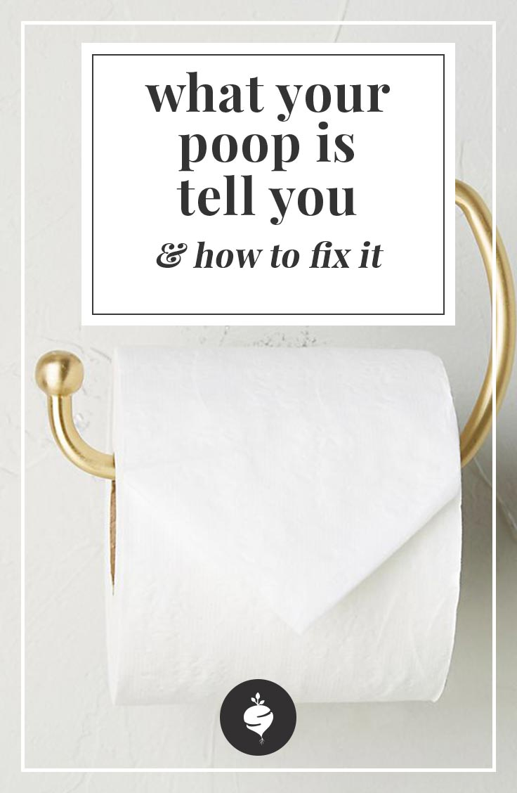 What Your Poop Is Telling You & How To Fix It | simplerootswellness.com #podcast #constipation #healthtip #embarrassinghealth