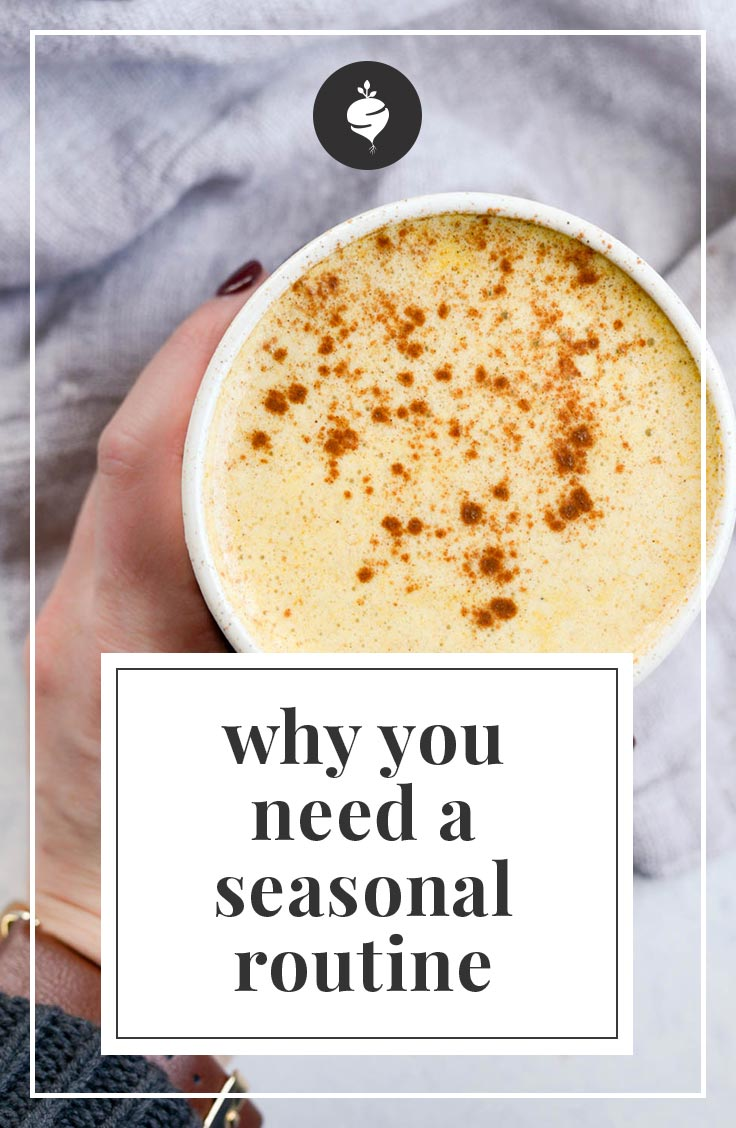 Why You Need a Seasonal Routine | simplerootswellness.com #podcast #health #seasonal #routines #habits