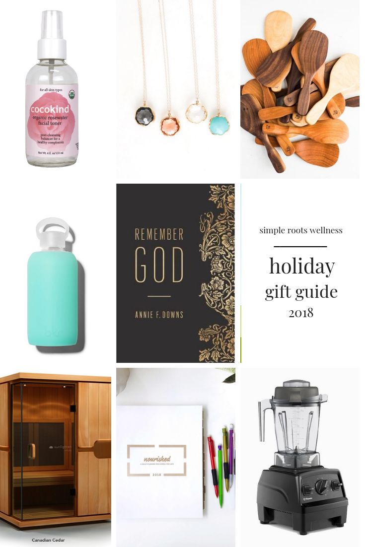 holiday gift guide 2018 | simplerootswellness.com #giftguide #holiday #health #fitness #kids #gifts