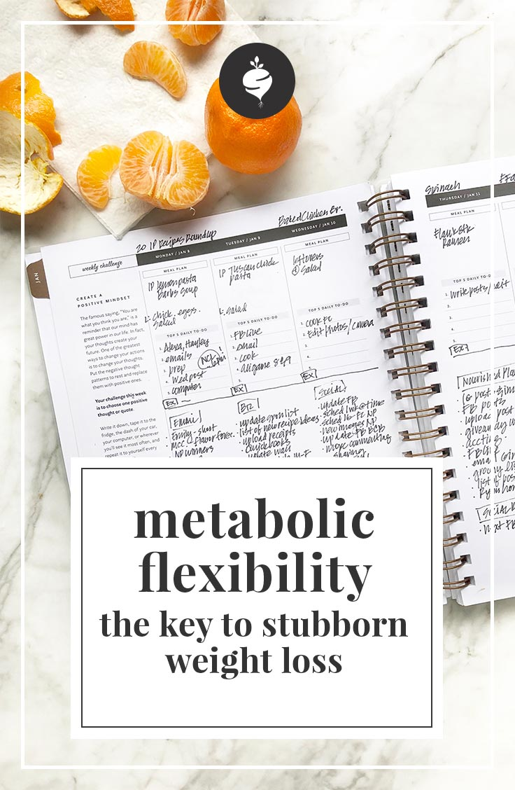 Metabolic Flexibility - The Key to Stubborn Weight Loss | simplerootswellness.com #podcast #weightloss #metabolism #easy