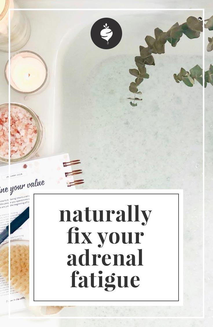 How to Naturally Fix Adrenal Fatigue | simplerootswellness.com #podcast #wellness #adrenalfatigue #weightloss #healthy