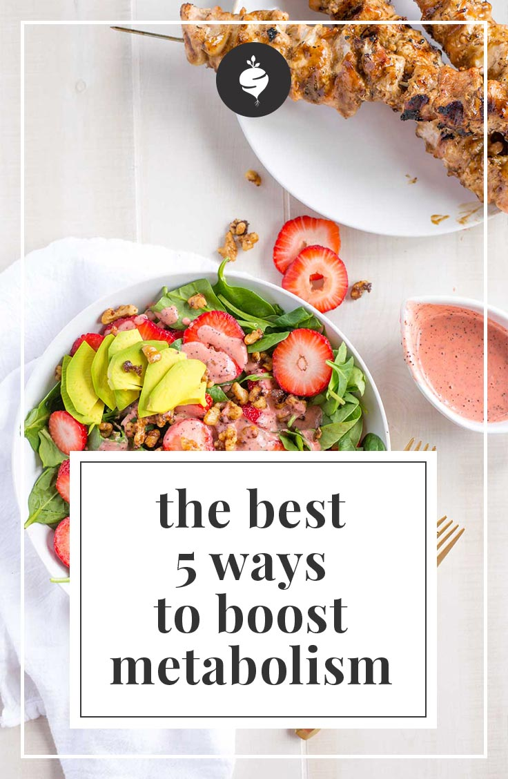 The Best 5 Ways to Boost Your Metabolism | simplerootswellness.com #podcast #health #metabolism #mindset #weightloss