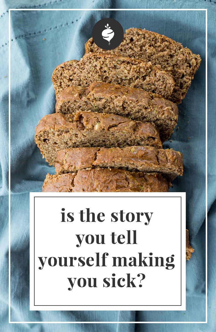 The Story You Tell Yourself Is Determining Your Health | simplerootswellness.com #podcast #health #mindset #mental #diet #gratitude #positive