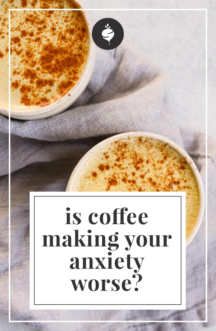 Is Coffee Making Anxiety Worse? | simplerootswellness.com #coffee #caffeine #anxiety #mentalhealth #health #healthy #podcast