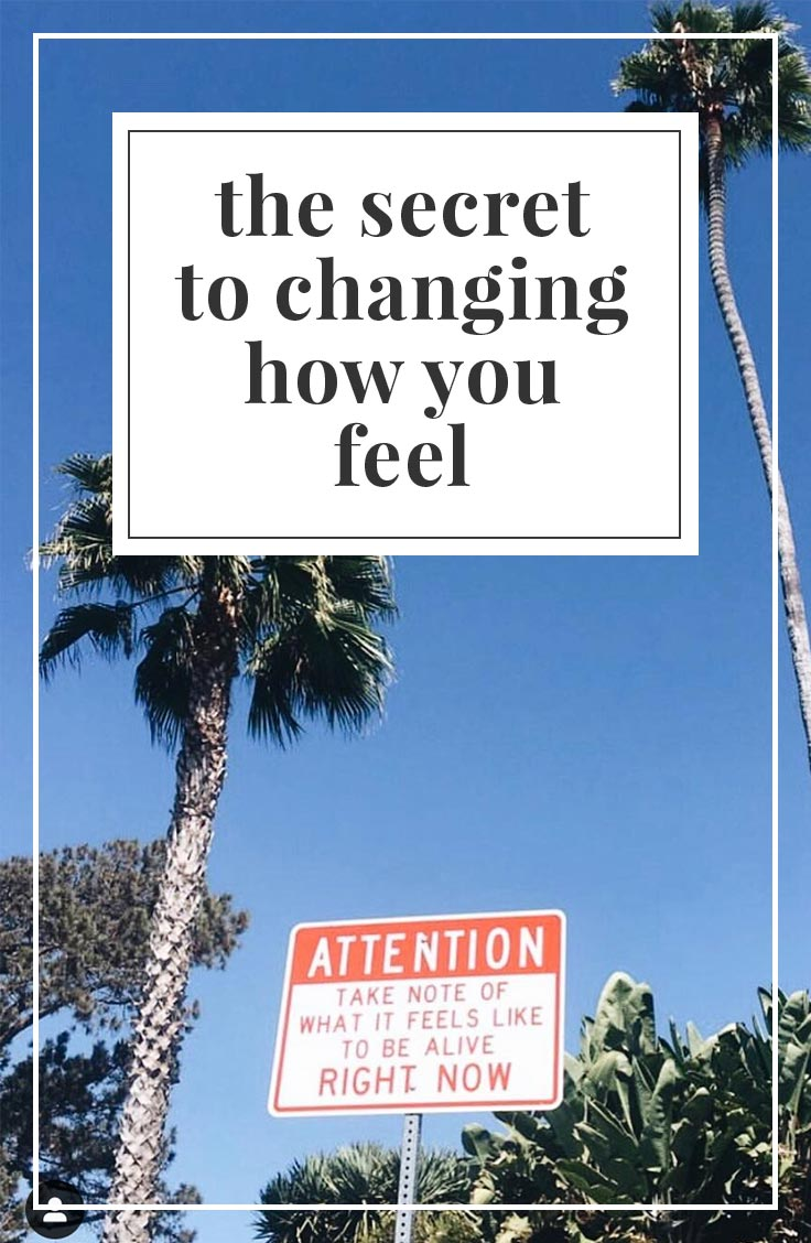 The Secret to Changing How You Feel | simplerootswellness.com #feelings #podcast #mindset #health #mind #mental #emotions #feelings #joy