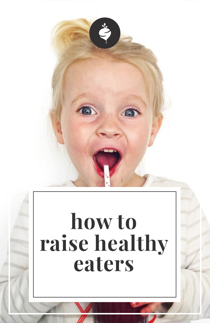 How to Raise Healthy Eaters | simplerootswellness.com #healthy #kids #raising #cooking #eating #mealprep #school