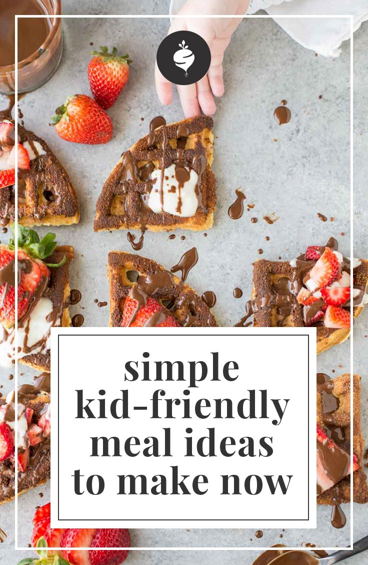 Simple Kid-Friendly Meal Ideas | simplerootswellness.com #podcast #kids #healthy #raising #mom #advice #tips #eating #hacks
