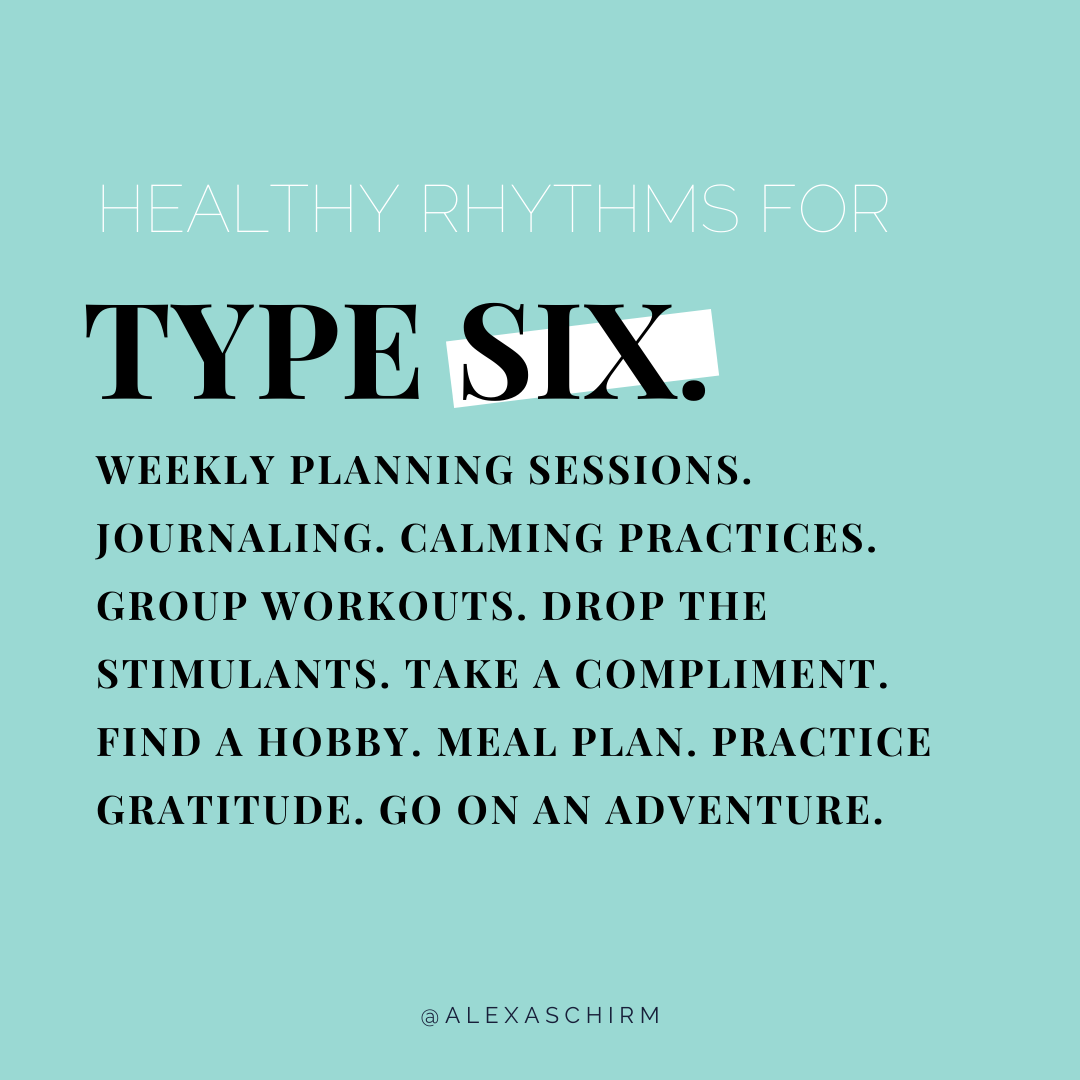 The best self-care practices for enneagram type six | simplerootswellness.com #podcast #enneagram #typesix #personality #health #selfcare #healthy
