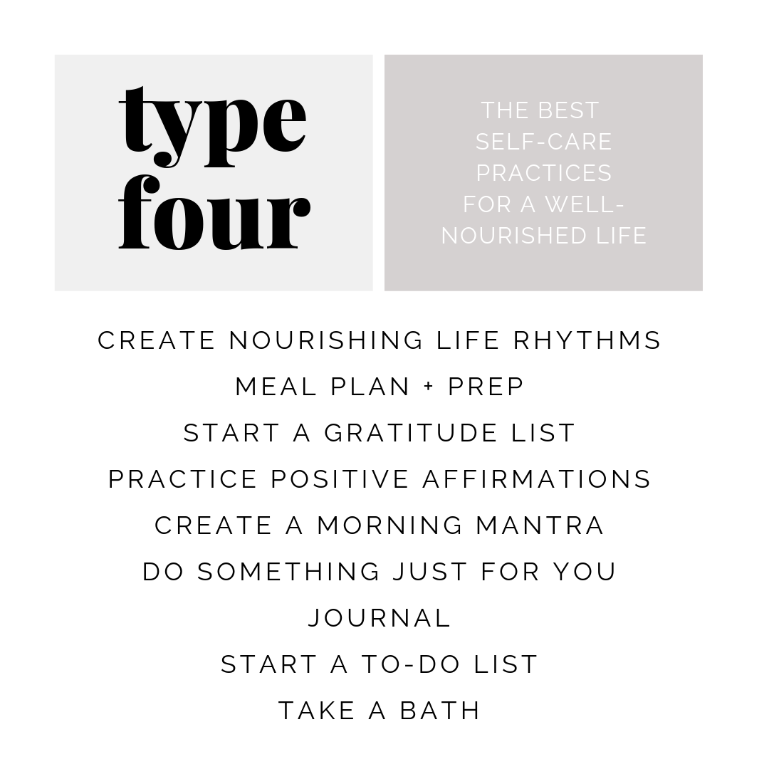 health tips for enneagram type four | simplerootswellness.com #podcast #eating #style #enneagram #type4 #health #healthy