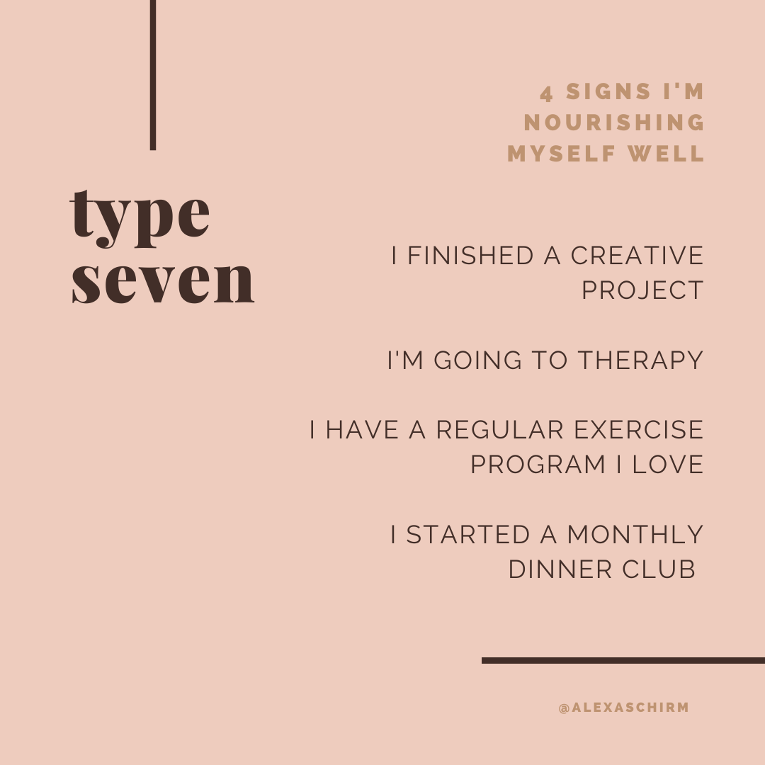 health tips for enneagram type seven | simplerootswellness.com #podcast #eating #style #enneagram #type7 #health #healthy