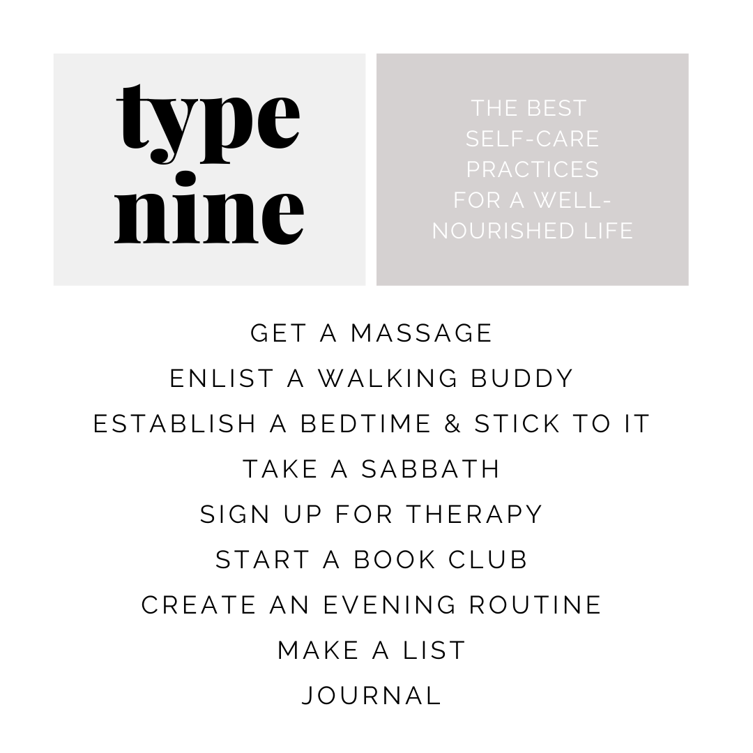 health tips for enneagram type nine | simplerootswellness.com #podcast #eating #style #enneagram #type9 #health #healthy