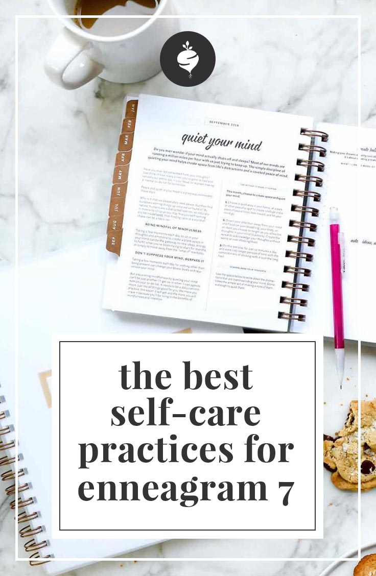 The best self-care practices for enneagram type seven | simplerootswellness.com #podcast #enneagram #typeseven #personality #health #selfcare #healthy