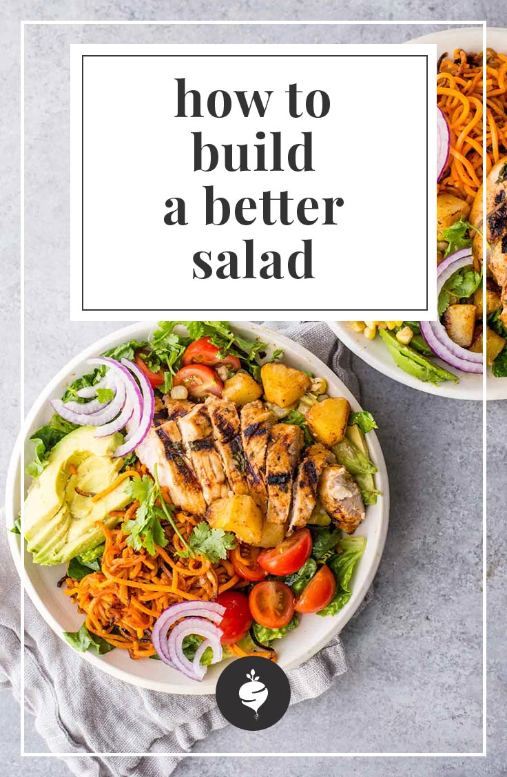 How to Build a Better Salad | simplerootswellness.com #salad #healthy #food #supper #lunch #easy #weight #health