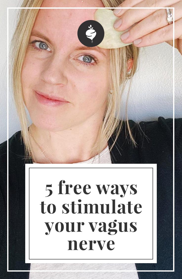 Five Free Ways To Stimulate Your Vagus Nerve | simplerootswellness.com #relax #mindset #healthy #anxiety #pain #health #weightloss