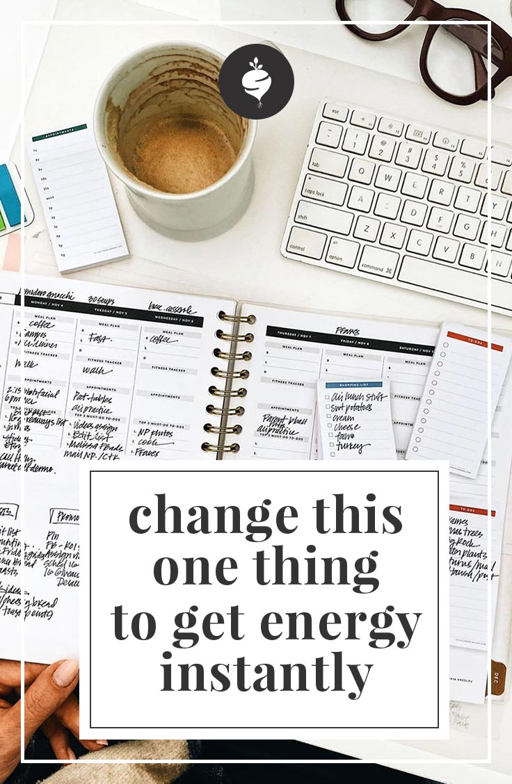 Change This One Thing To Get More Energy Instantly | simplerootswellness.com #health #energy #wellness #easy #mindset #mental #wellness